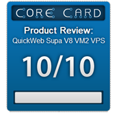 QuickWeb SSD VPS review